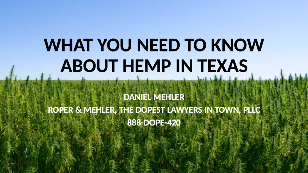 What You Need To Know About Hemp In Texas